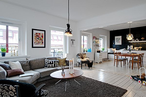 Renovated 3-room apartment with a modern feel