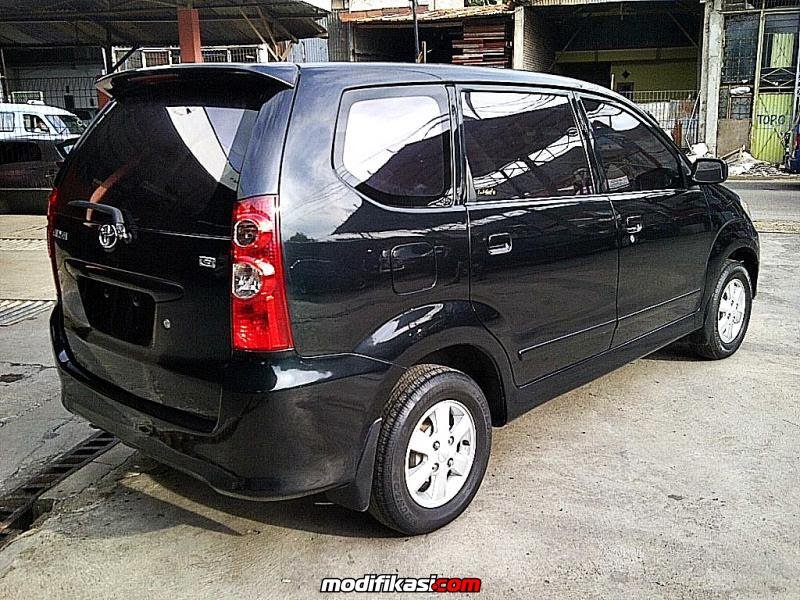 Toyota Avanza Type G 2007 Manual Hitam Dp Rendah Cv