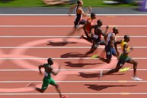 prova Usain Bolt Olimpíadas (Foto: AP)