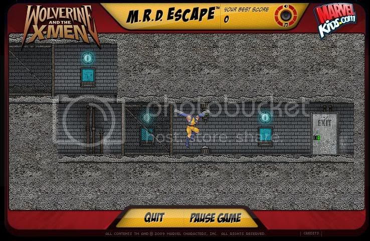 Wolverine Game Online