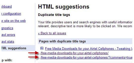 Google Webmaster Tools.
