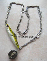 fishing jig wire wrapped jewelry