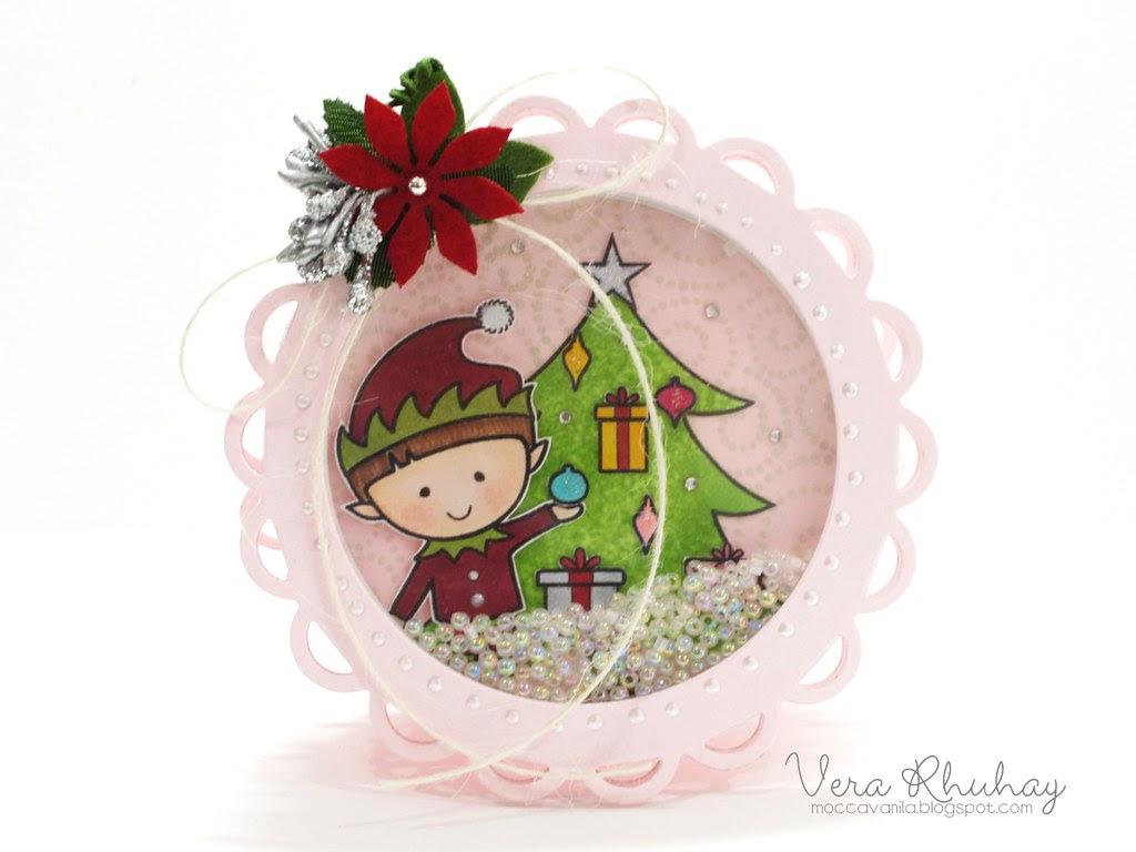 Christmas Shaker Card 03