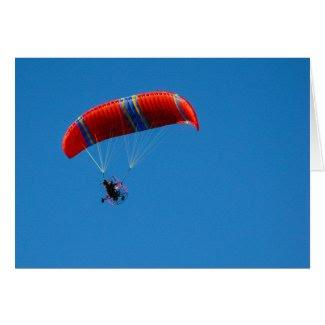 Motor Paraglider: Time to Soar Encouragement Card