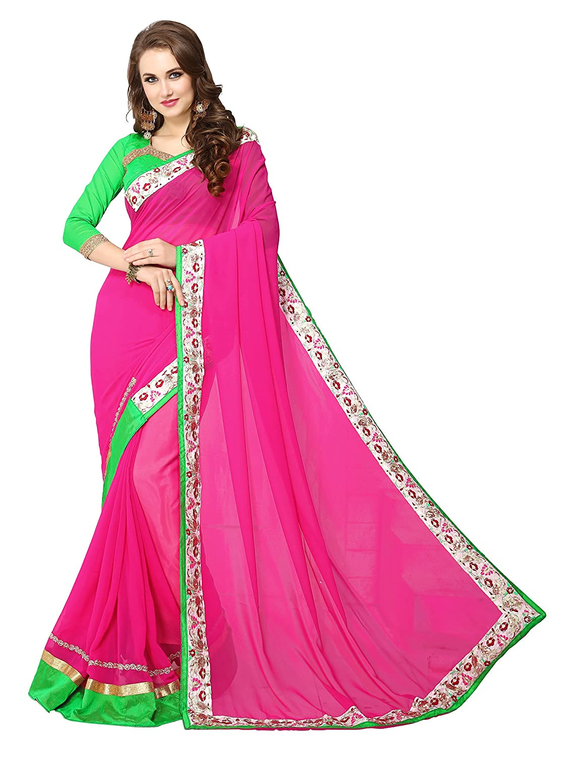 Deals on Panchratna Saree For Women