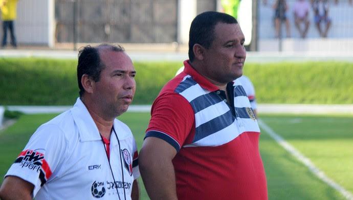 ABC x Santa Cruz de Natal, no Estádio Frasqueirão - Higor César (Foto: Diego Simonetti/Santa Cruz de Natal)
