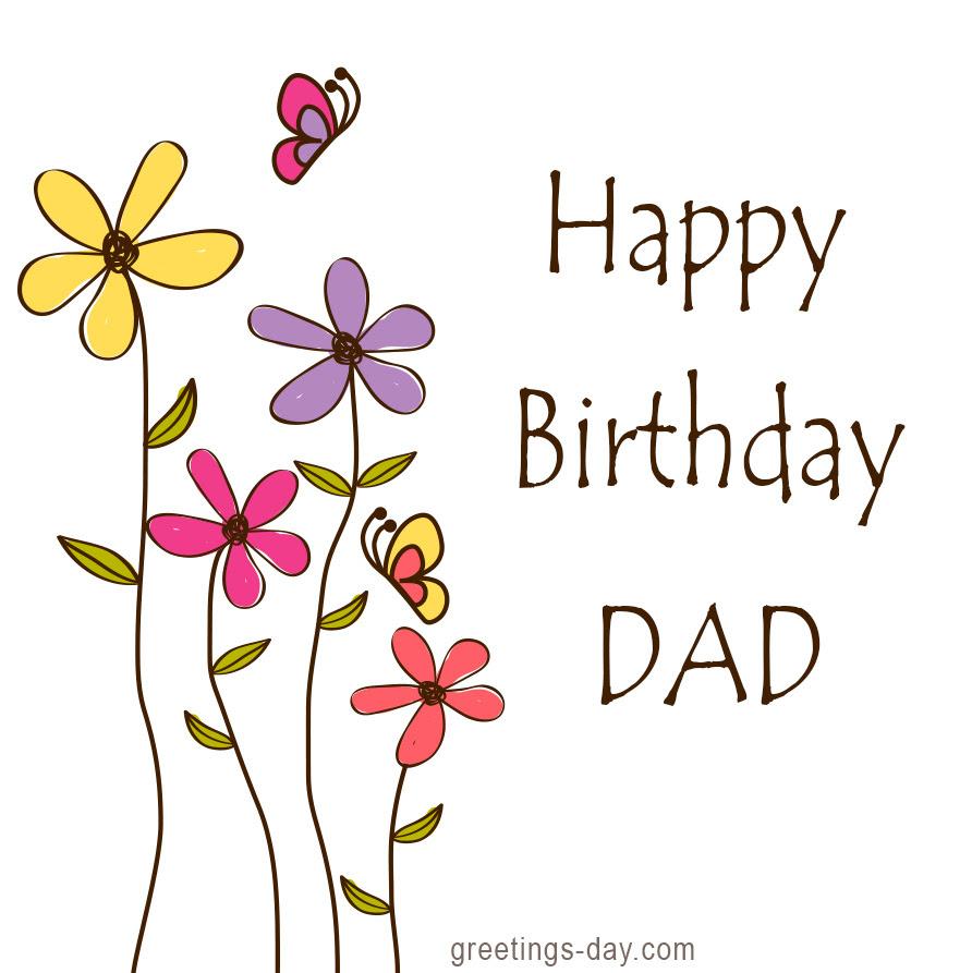 Happy birthday for dad