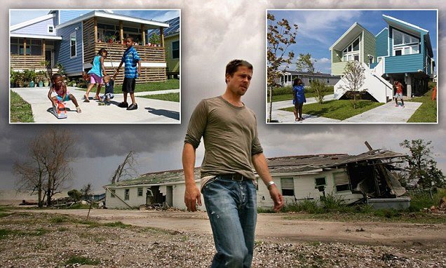 How Brad Pitt transformed the lives of New Orleans families after Hurricane Katrina