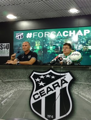 Ceará, apresentação, Gilmar Dal Pozzo (Foto: Juscelino Filho)