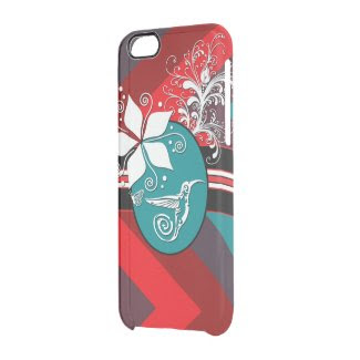 Little Hummingbird aqua Uncommon Clearly™ Deflector iPhone 6 Case
