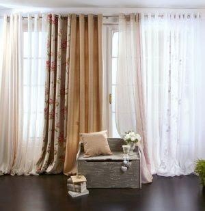 Dormitorio muebles modernos cortinas en leroy merlin for Visillos leroy merlin