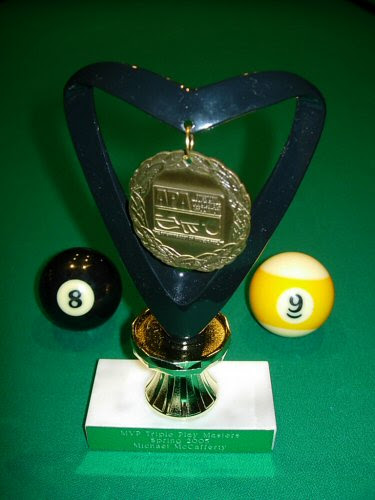 MVP Masters trophy, for my undefeated 2005 Spring Session