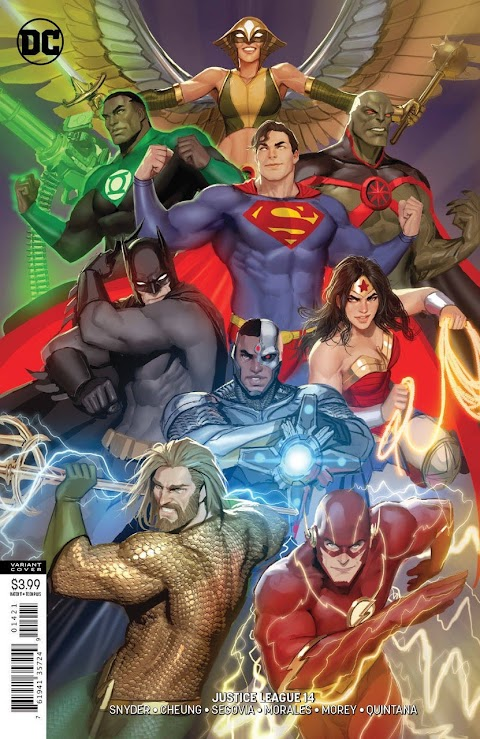Justice League Comic Book Covers
