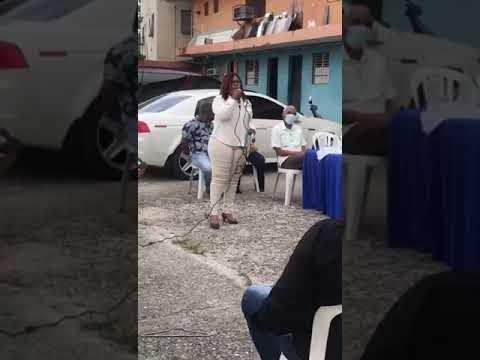 El sector Nueva Esperanza de  San Cristóbal elije a la Licda. Daysi Reyes como su nueva presidenta