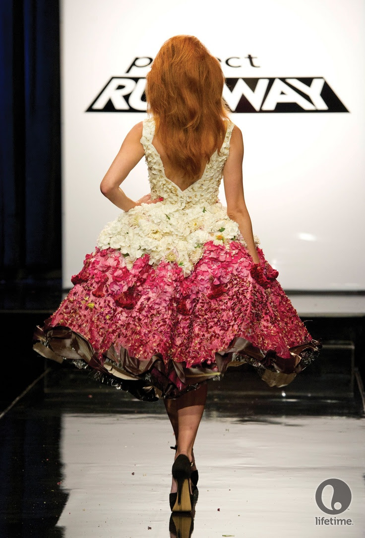 Kate Pankoke Project Runway   Floral and hardware