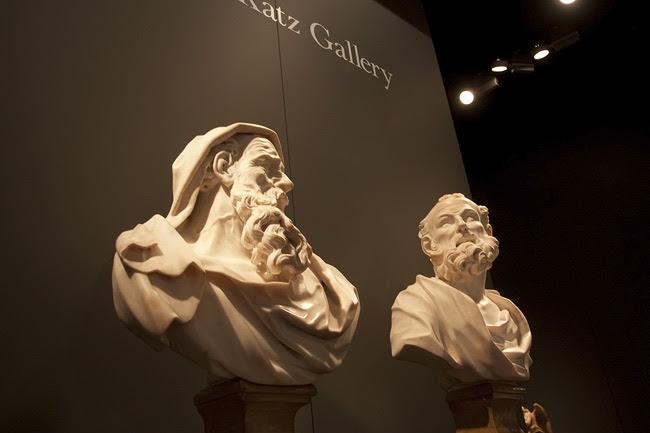 Antiques show busts