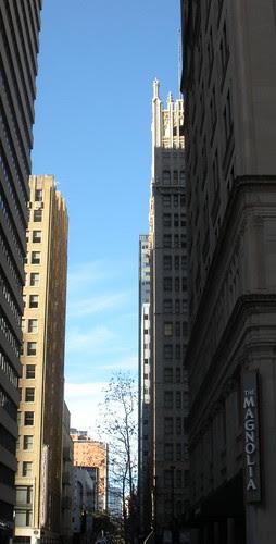 Blue Skies over Commerce Street
