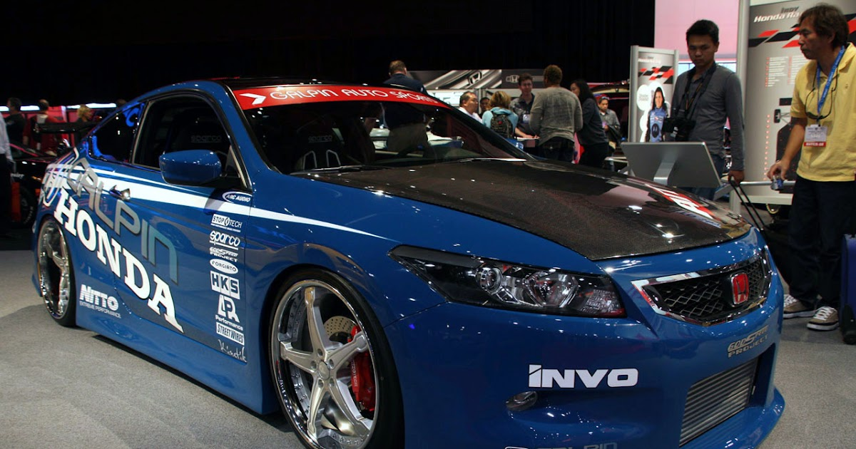 Car-Insomnia Makes You Can't Sleep: Cool Honda Accord Photos and Accessories