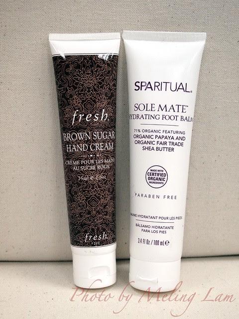 呵護手腳 fresh hand cream sparitual foot cream
