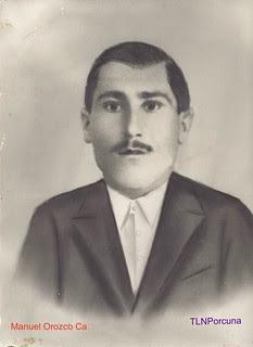 Manuel Orozco Cañas, muerto en combate