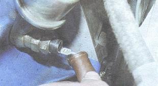 статья про замена датчика контрольной лампы недостаточного давления масла ВАЗ 2106