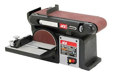 Ace Benchtop Belt Amp Disc Sander 60701034 Bench Grinder