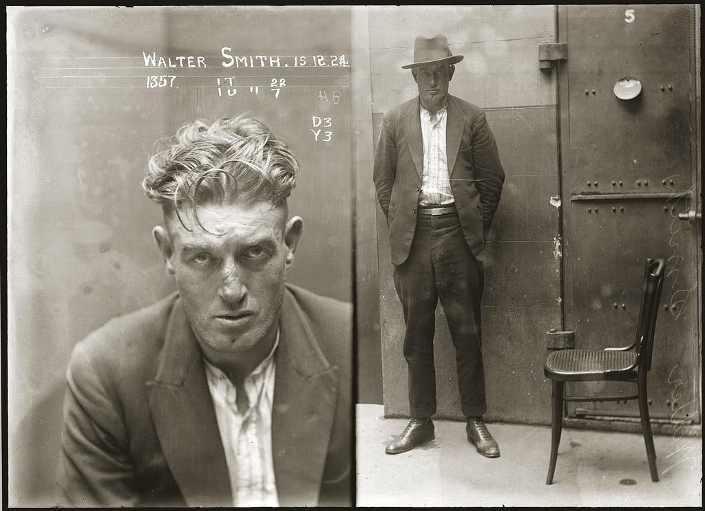 photo police sydney australie mugshot 1920 09 Portraits de criminels australiens dans les années 1920