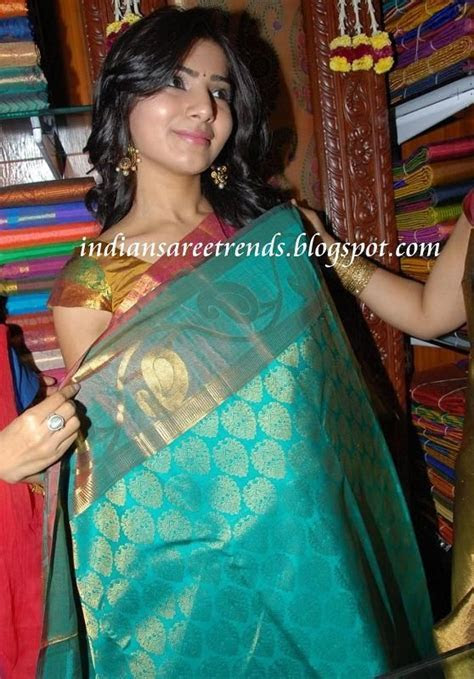 Latest Traditional and Designer Sarees: Samantha