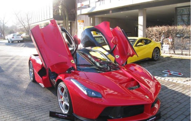 The First Ever Made La Ferrari Is Put Up For Sale - Carhoots