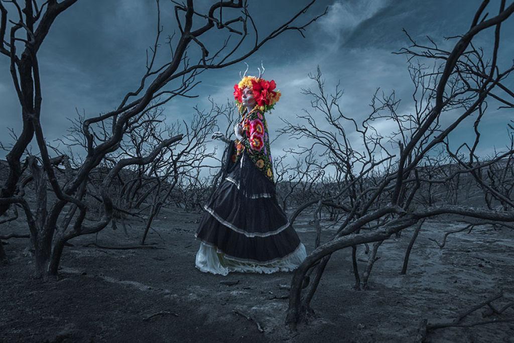 As Mortas: Belezas mortais posam em um colorido tributo ao Dia dos Mortos 02