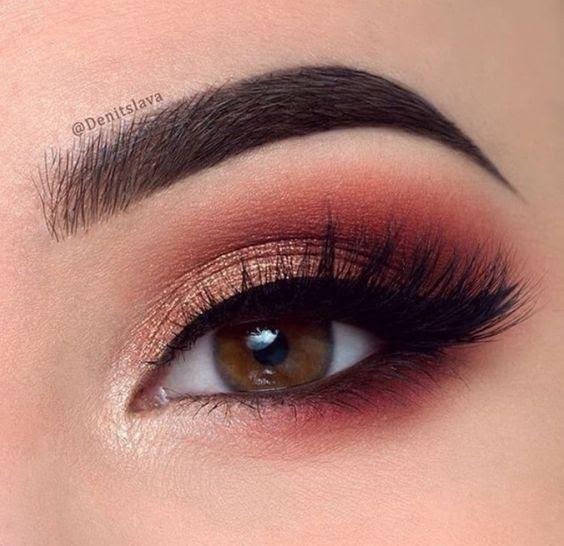 Simple makeup looks for brown eyes