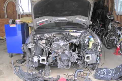 Audi A4 20 Tdi Engine Removal