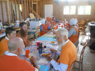 More Eating the Orange Day Meal