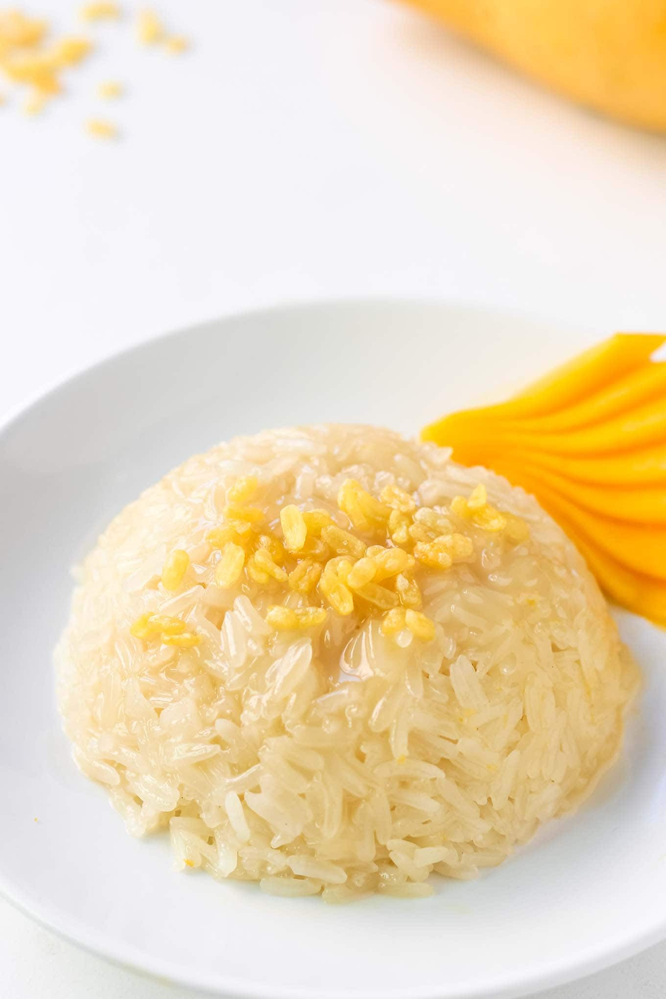 Thai Mango Sticky Rice Dessert Recipe - LeelaLicious