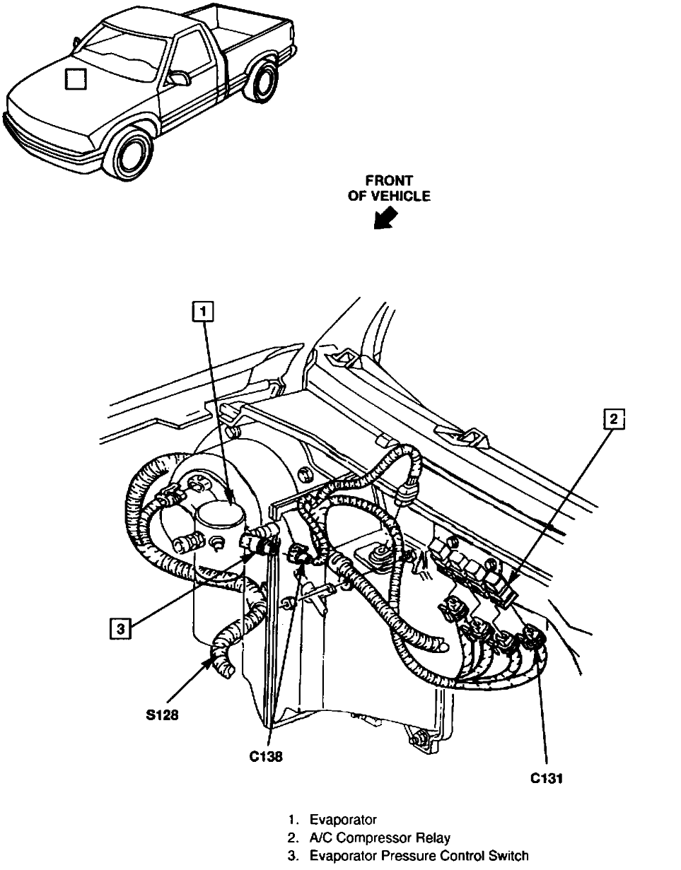 2000 Gmc Sonoma Engine Diagram