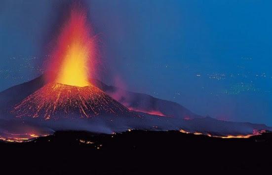 Έκρηξη στο ηφαίστειο της Αίτνας