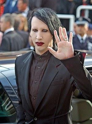 Français : Marilyn Manson au festival de Cannes
