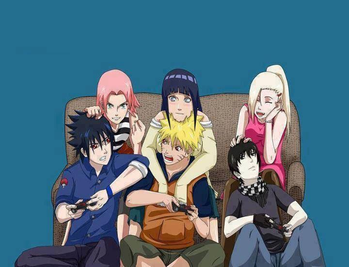 SasuSaku, NaruHina and InoSai - Naruto Couples ♥ Fan Art ...
