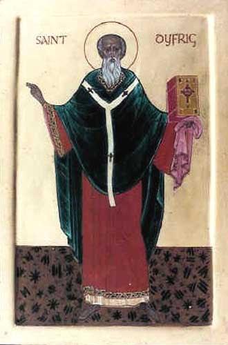 ST. DUBRICIUS of Caerleon