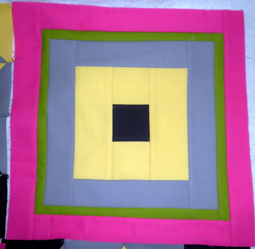 Block 12 -Modern Solids Patchwork Squared