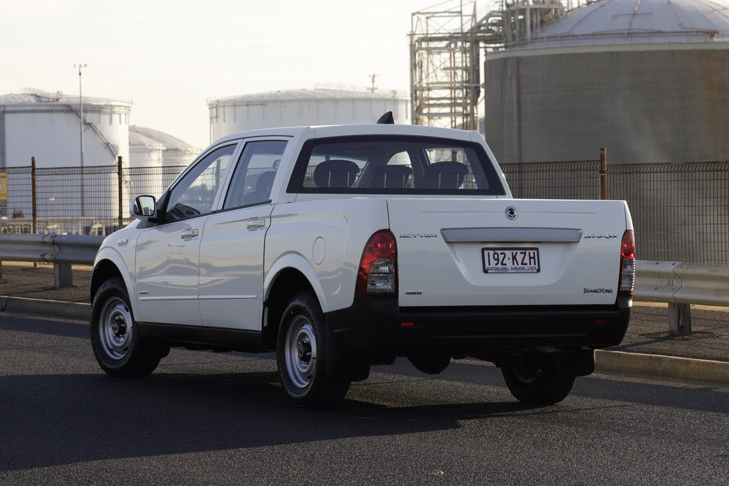 Ssangyong Sports Dual Cab Traphoto 3 3358