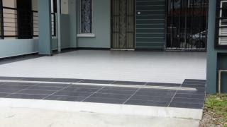 Car Porch Tiles Design Pattern Malaysia
