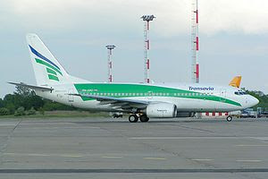 Transavia.com Boeing 737-700 in old livery tax...