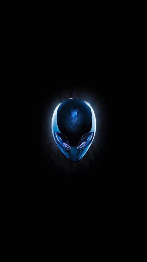 Wallpaper full hd 1080 x 1920 smartphone blue alien