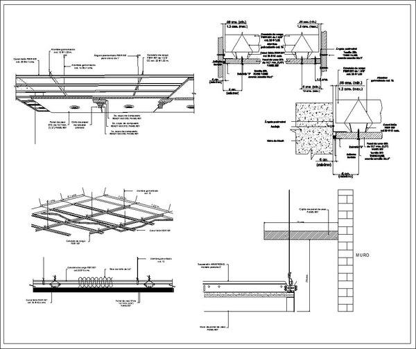 Ceiling Details V2 CAD Design Free CAD Blocks Drawings