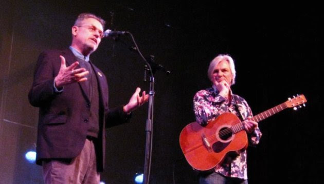 Jonathan Demme and Robyn Hitchcock