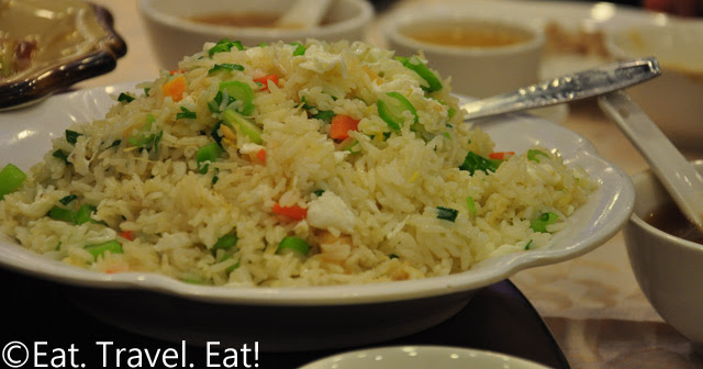 Dried Scallop and Egg White Fried Rice