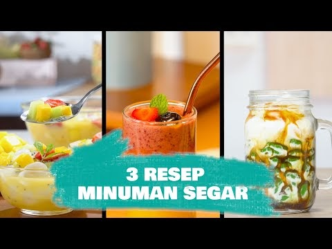 3 Resep Minuman Segar untuk Sejukkan Harimu oleh - nutrisiharian.xyz