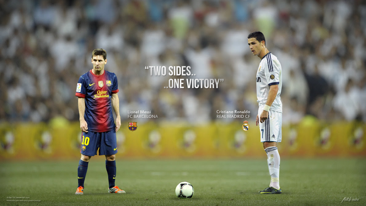 Messi Vs Ronaldo Until One Of Them Starts Slowing Down