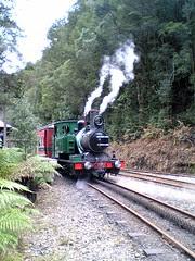 ABT Steam Locomotive on Rack